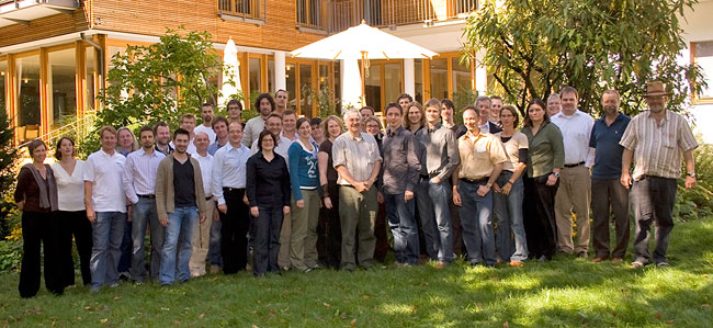 Closed meeting in Herrsching (Haus der Bayrerischen Landwirtschaft, September 2007; Photo: Wasti Weber)